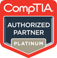 CompTIA Authorized Partner -  One-On-One Online Courses